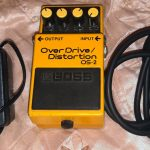 Pedal Boss overdrive distortion