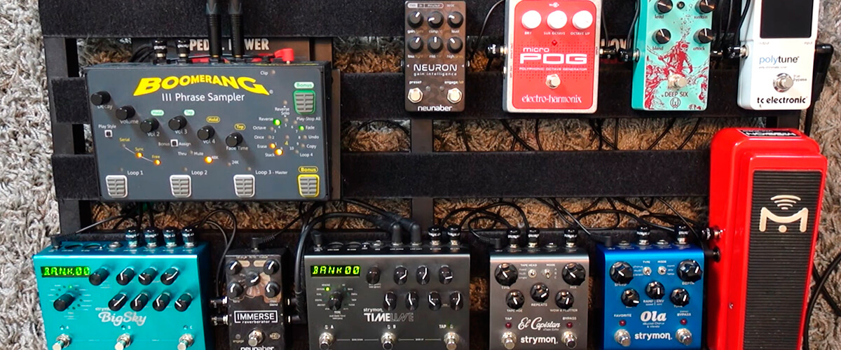 reverb pedal placement on signal chain