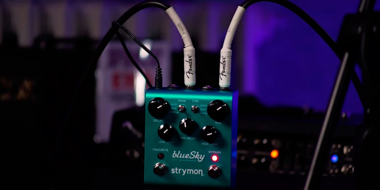 What is a guitar reverb pedal?